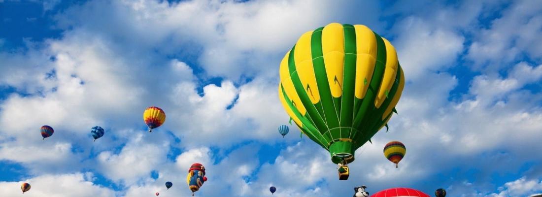 Skrydžiai oro balionais