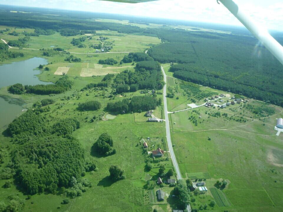 Skrydis lėktuvu virš 12-os ežerų