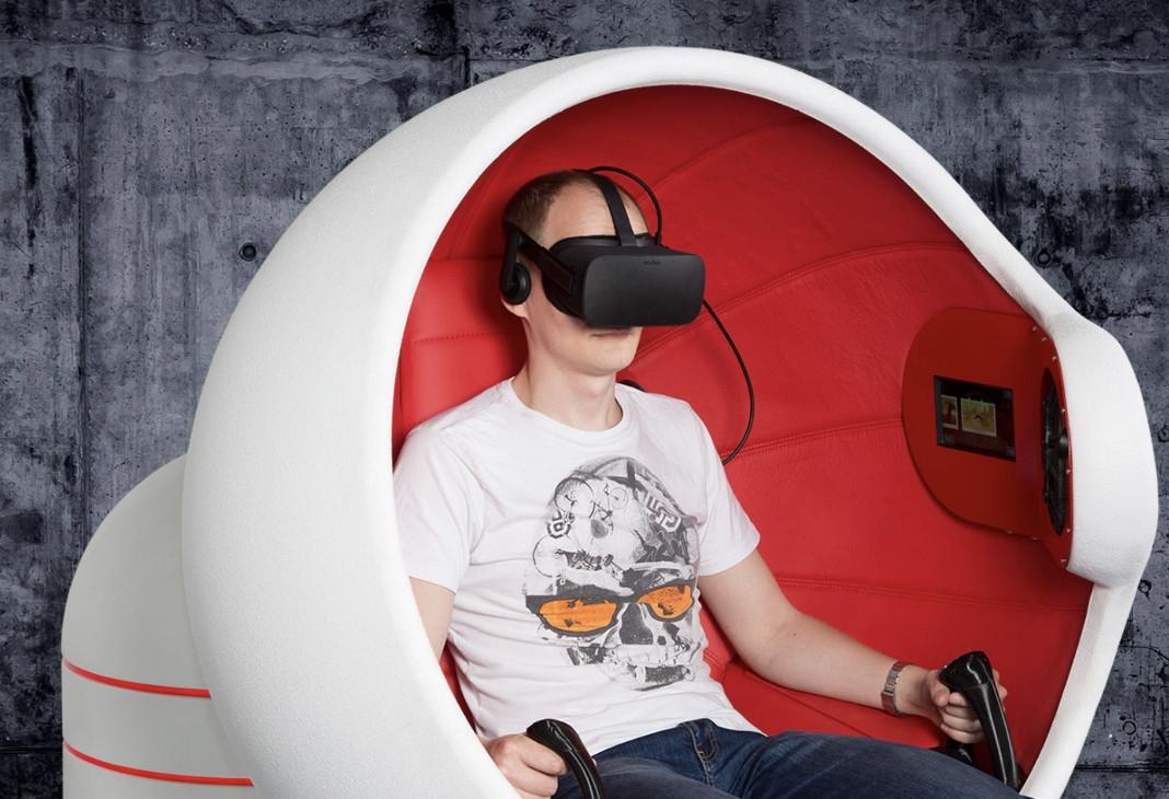 "Virtualios realybės ""FLYER"""