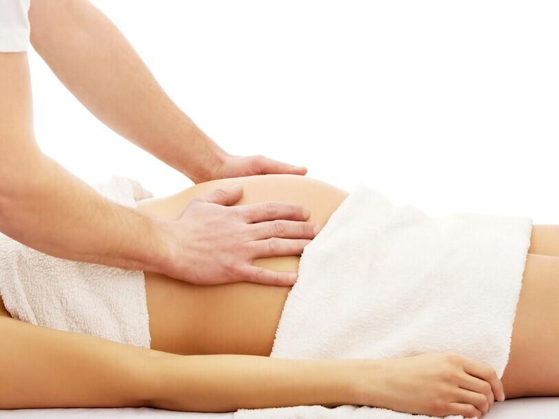 Viso kūno masažas nėštumo metu