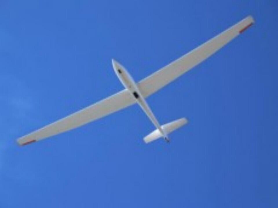 Pilotažinis skrydis sklandytuvu Pociūnuose
