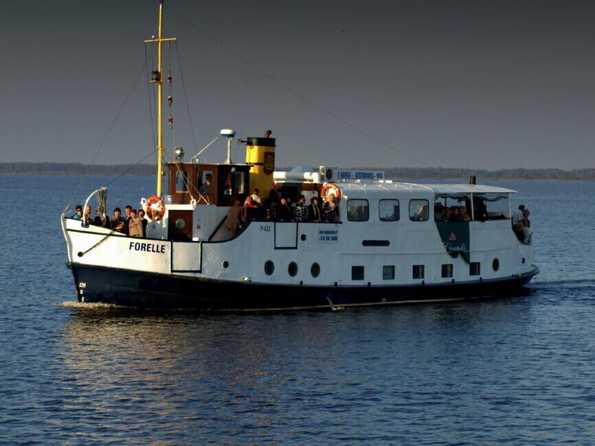 "Kelionė laivu ""Forelle"" (2 asmenims)"