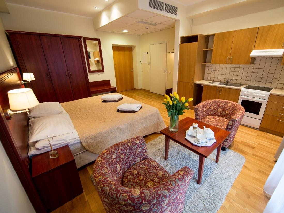 Nakvynė Royal SPA Residence viešbutyje Birštone DVIEM