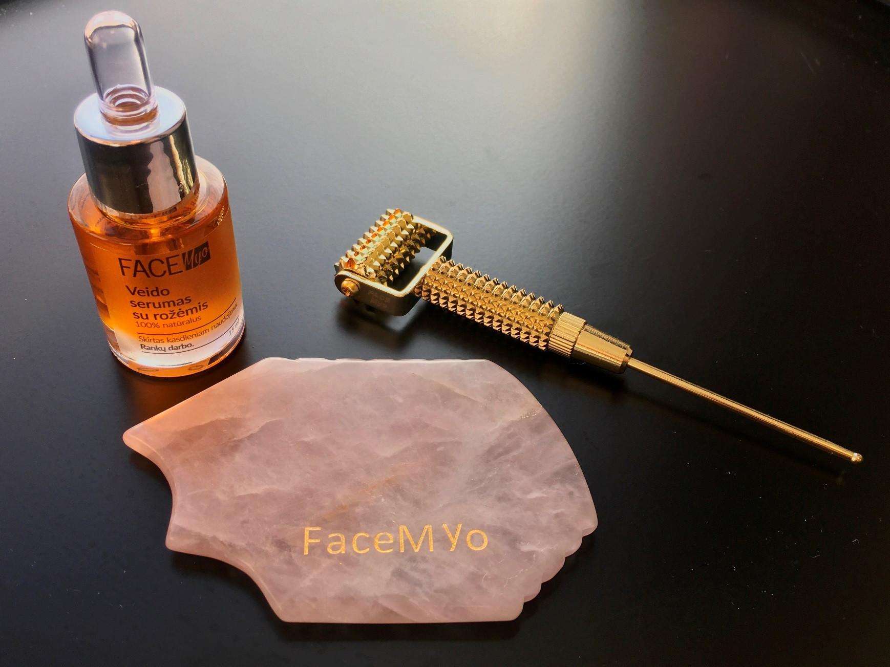 FaceMyo individualus mokymas