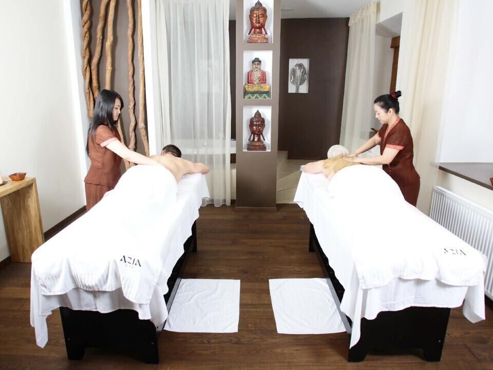 Balinezietiškas atgaivos ritualas dviems