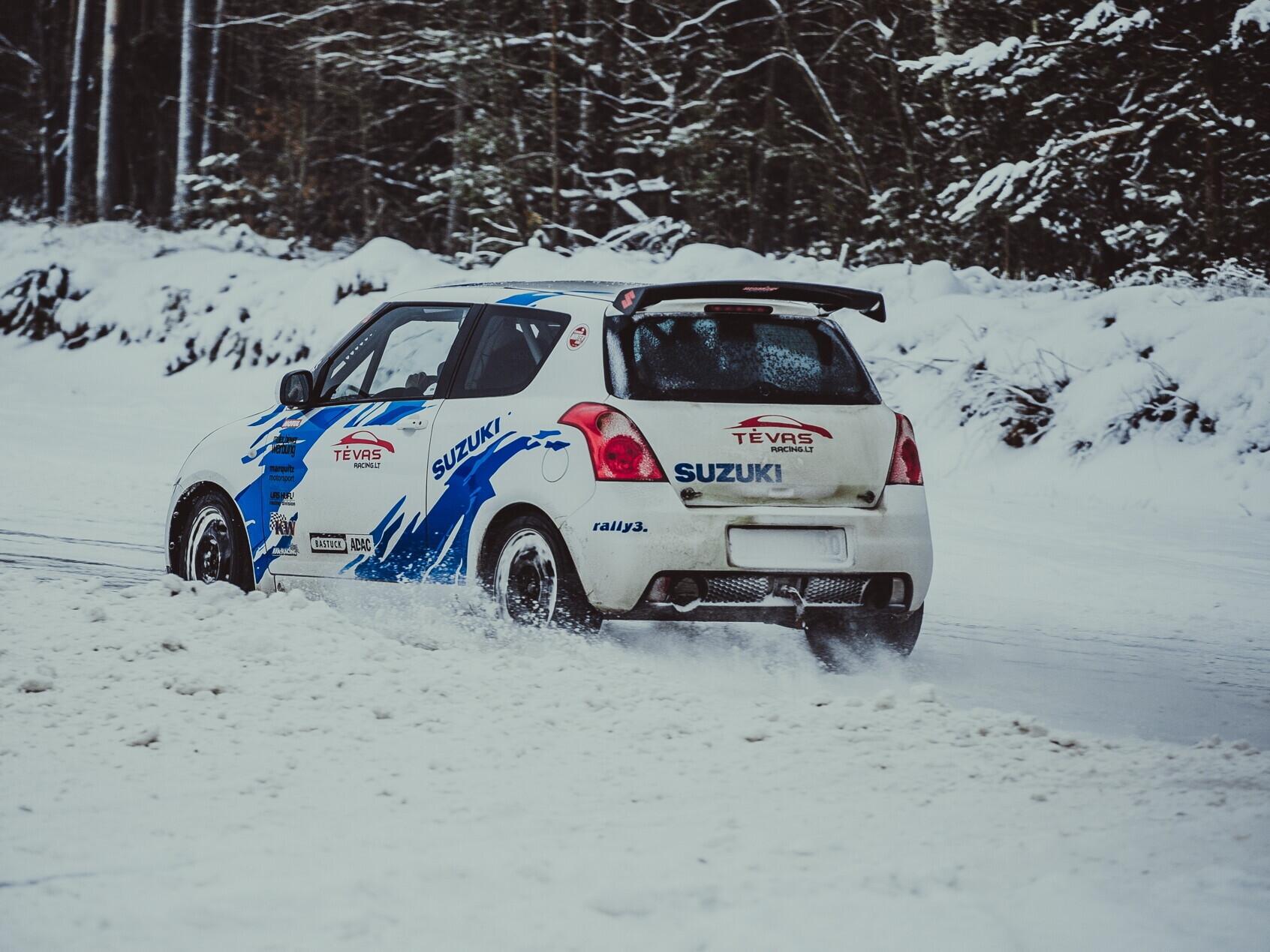 """Vairuok """"Suzuki Swift Sport"""" trasoje"""