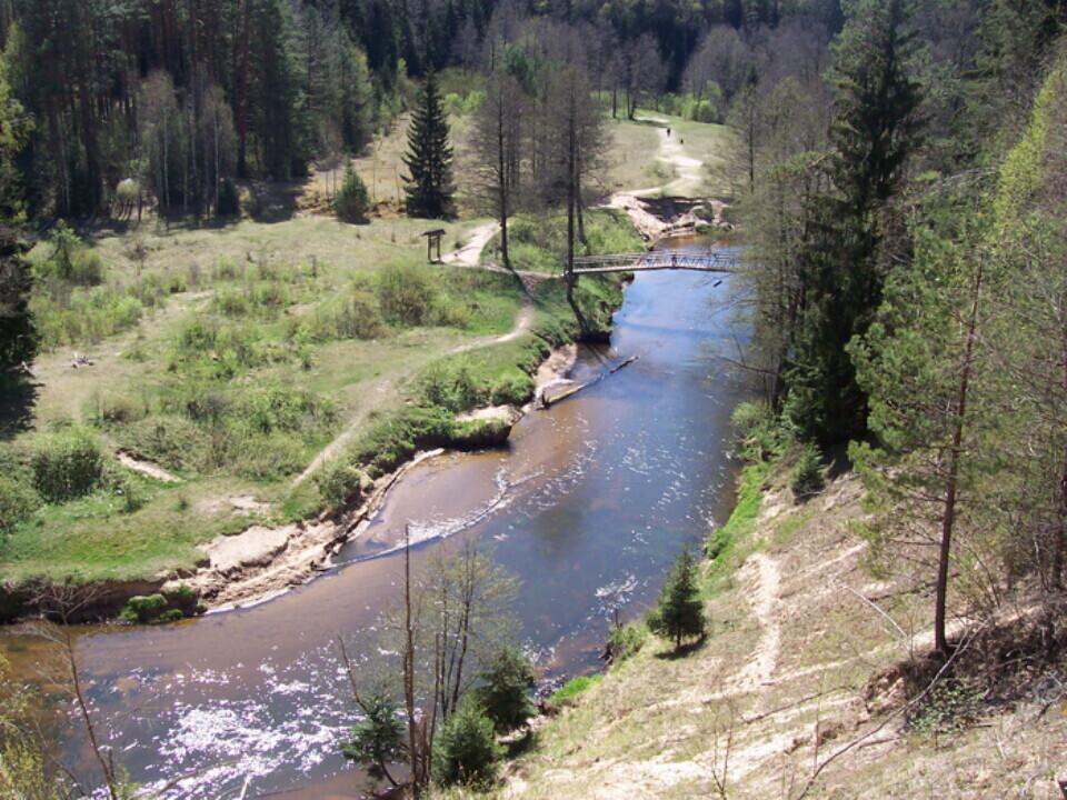 Plaukimas baidarėmis Ūlos upe dviem