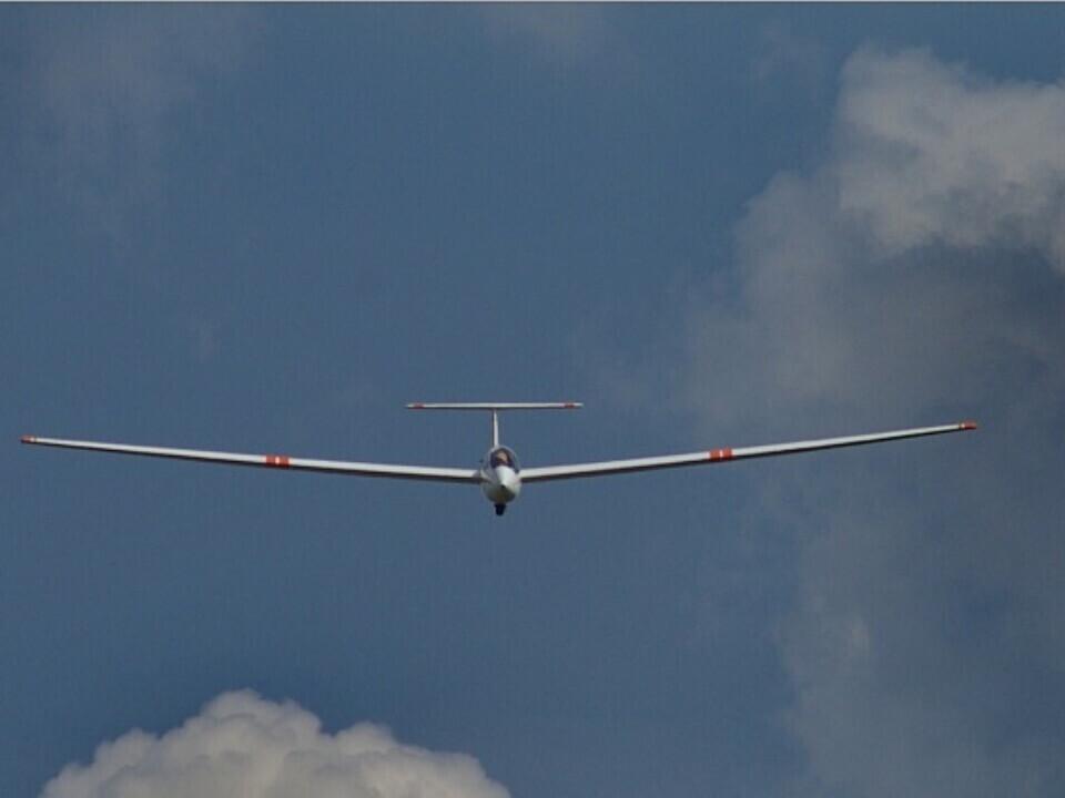 Pilotavimo skrydis sklandytuvu (Paluknys)