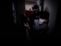 """Pabėgimo kambarys visiškoje tamsoje """"Aklas apiplėšimas"""""""
