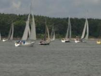 Pažintinė buriavimo jachta pamoka Trakuose