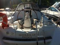 Plaukimas įspūdinga Jeanneau jachta Kuršių mariose