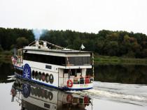 Plaukimas laivu Birštone