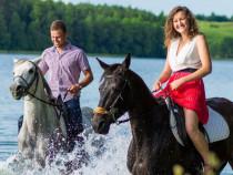 Jodinėjimas Trakų istoriniame nacionaliniame parke dviems