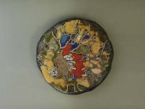 Dekoratyvinė lėkštė su paukšteliu