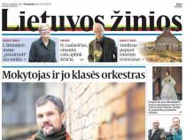 "Dienraščio ""Lietuvos žinios"" prenumerata"