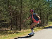 Longboarding treniruotė