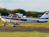 Mokomasis - pažintinis skrydis keturviečiu lėktuvu