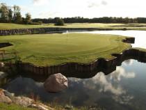 Pramoginė pažintis su golfo žaidimu dviem