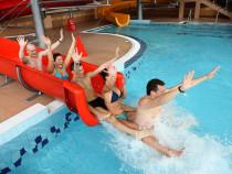 "Vandens pramogos ""Trasalis Trakai Resort & SPA"" ir gardi pica"