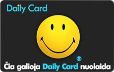 Puiki dovana - nuolaidos su Dailycard