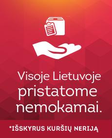 Puiki dovana - nemokamas pristatymas visoje Lietuvoje